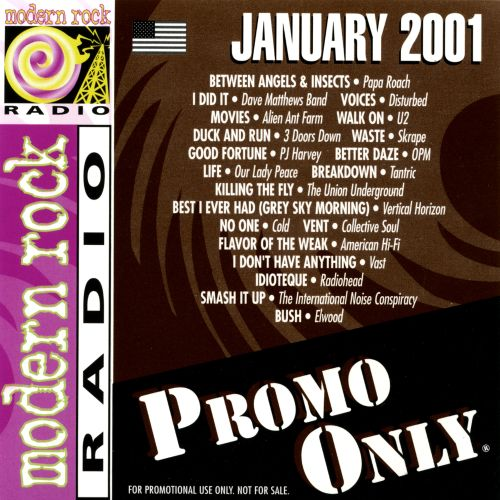 Promo Only: Modern Rock Radio (January 2001)