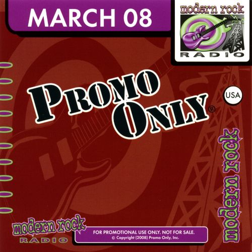 Promo Only: Modern Rock Radio (March 2008)