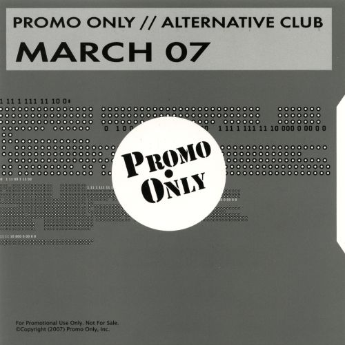 Promo Only: Alternative Club (March 2007)