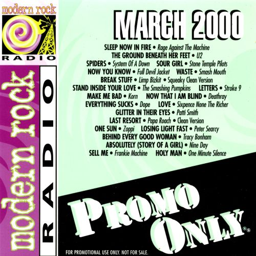 Promo Only: Modern Rock Radio (March 2000)