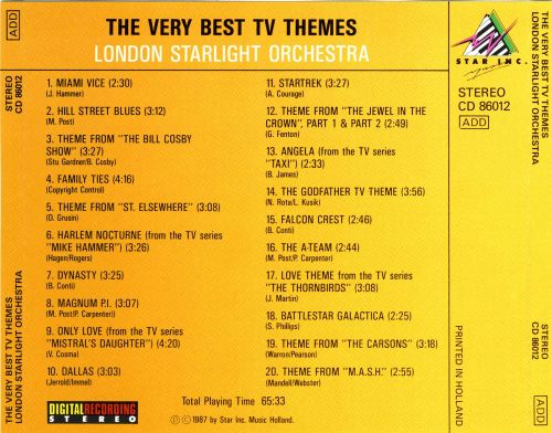 The  Very Best TV Themes