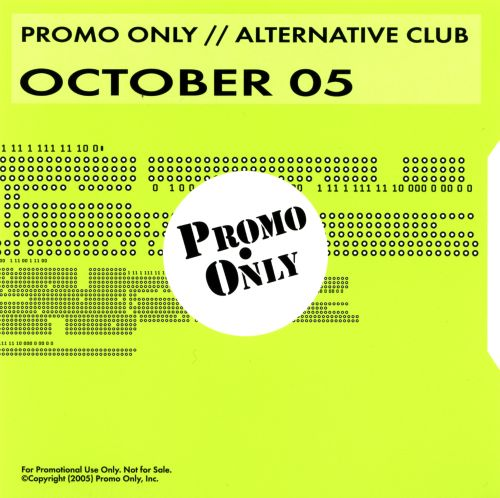 Promo Only: Alternative Club (October 2005)