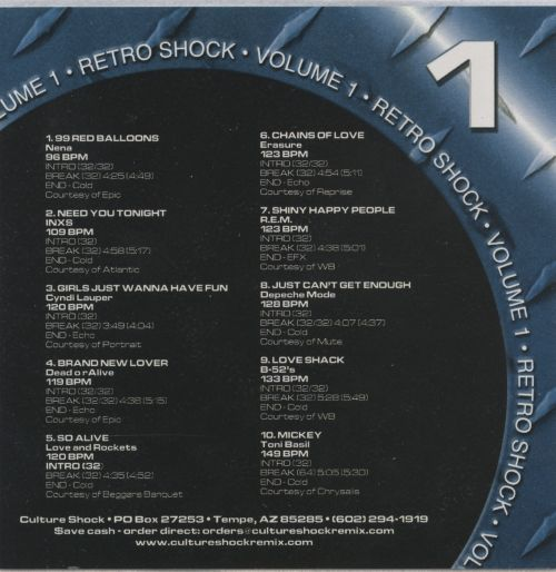 Retro Shock, Vol. 1