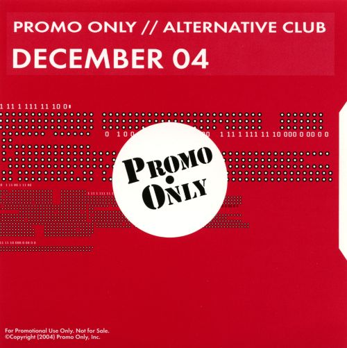 Promo Only: Alternative Club (December 2004)