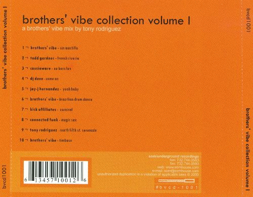 Brothers' Vibe Collection, Vol. 1