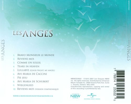 Les Anges avec Gregory Charles
