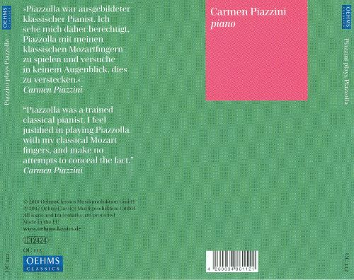 Piazzini Plays Piazzolla & Other Music From Argentina