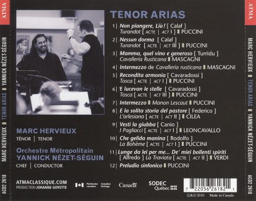 Marc Hervieux Sings Tenor Arias