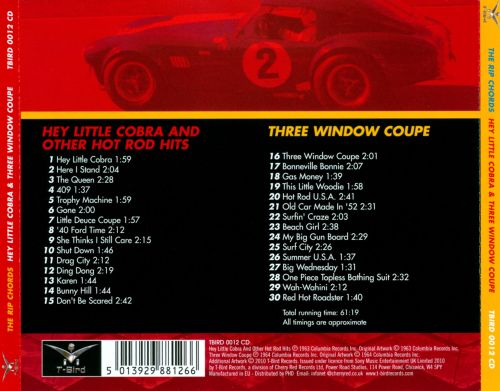 Hey Little Cobra and Other Hot Rod Hits/Three-Window Coupe