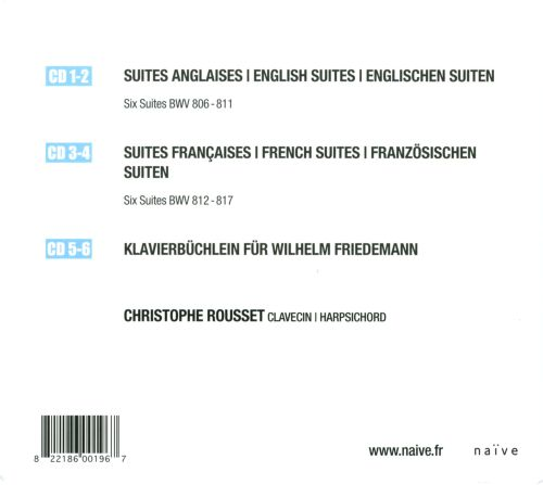 Christophe Rousset Plays Bach