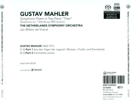 Mahler: Symphonic Poem in Two Parts
