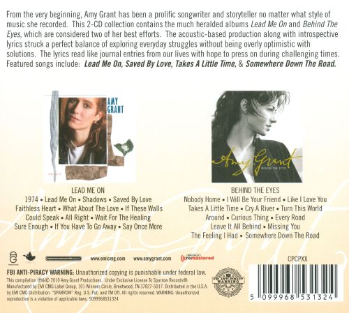 the singer songwriter collection amy grant songs reviews credits allmusic. Black Bedroom Furniture Sets. Home Design Ideas