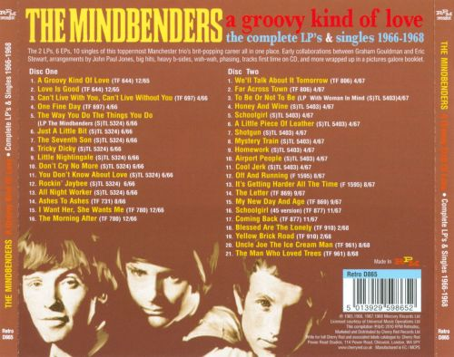 A Groovy Kind of Love: The Complete LP's & Singles 1966-1968