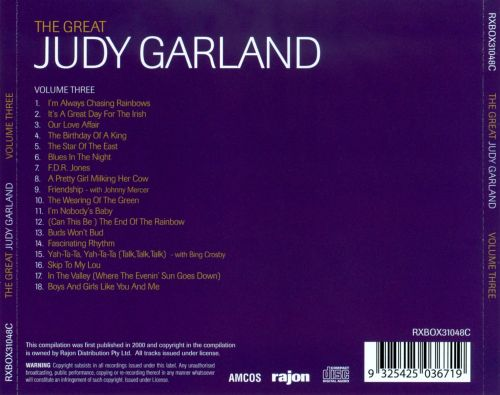 The Great Judy Garland, Vol. 3