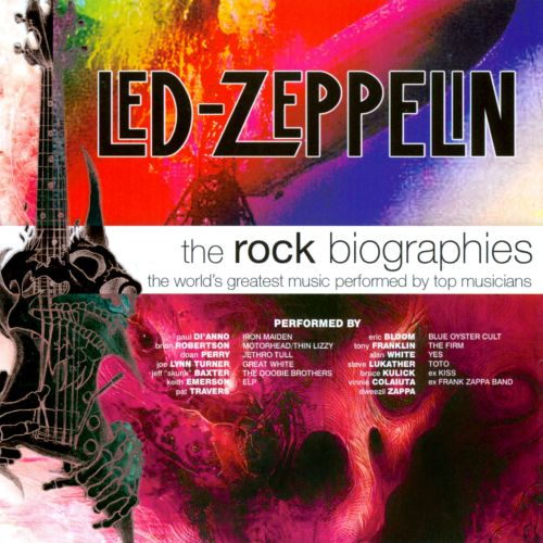 The  Rock Biographies: Led Zeppelin
