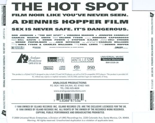 The Hot Spot [Original Soundtrack]