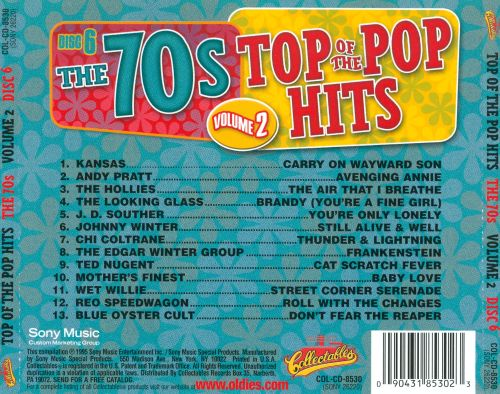 Top of the Pop Hits: The 70s, Vol. 2: Disc 6