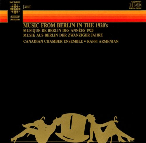 Music from Berlin in the 1920s