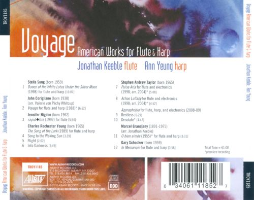 Voyage: American Works for Flute & harp