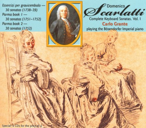 Domenico Scarlatti: Complete Keyboard Sonatas, Vol. 1