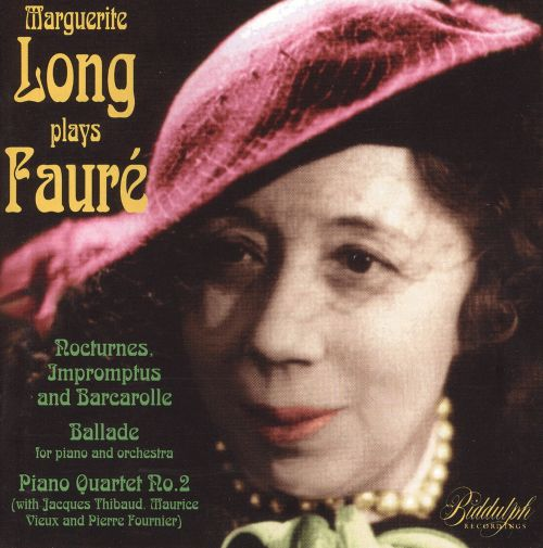 Marguerite Long Plays Fauré