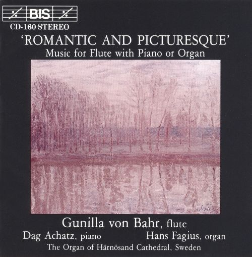 Romantic & Picturesque Music for Flute & Keyboard
