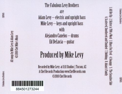 Fabulous Levy Brothers