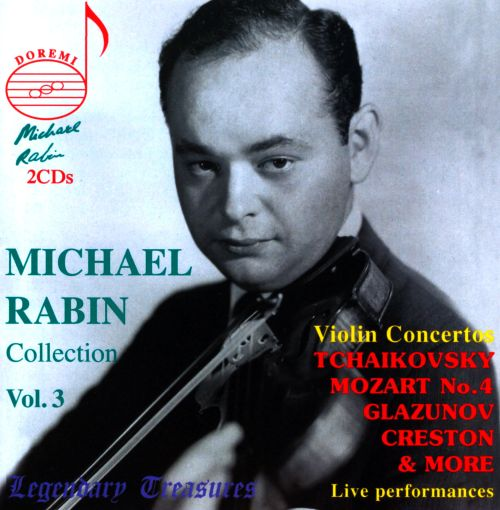 Michael Rabin: Collection, Vol. 3