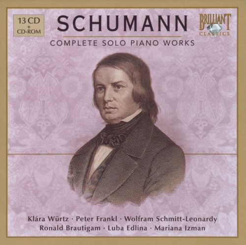 Schumann: Complete Solo Piano Works
