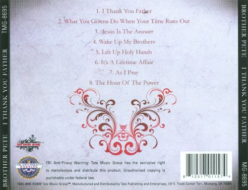 I Thank You Father
