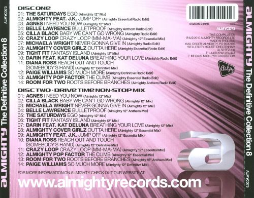 Almighty: The Definitive Collection, Vol. 8