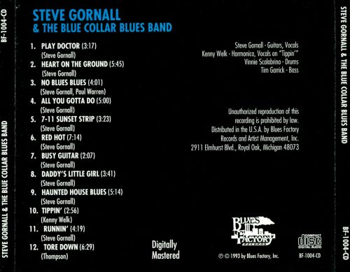 Steve Gornall & The Blue Collar Blues Band