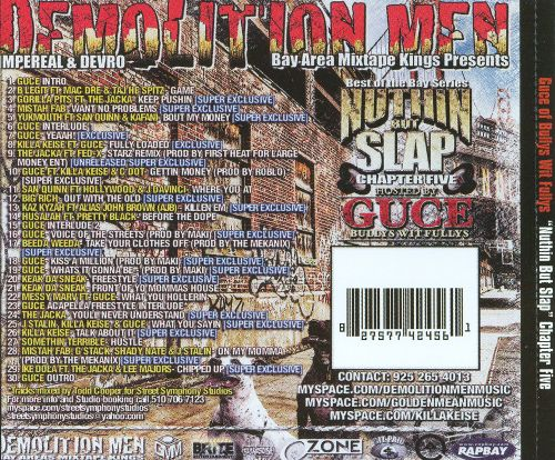 Demolition Men: Nuthin But Slap