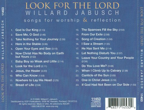 Look for the Lord: Songs for Worship & Reflection