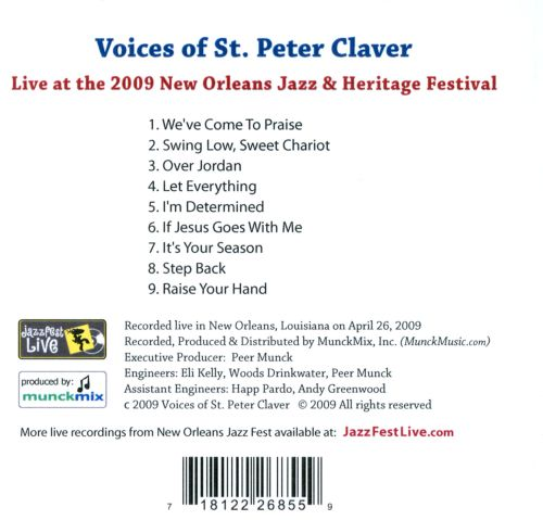 Live at the 2009 New Orleans Jazz and Heritage Festival