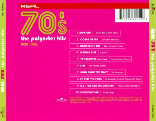 Real 70's: The Polyester Hits, Disc Three