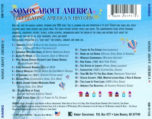 Songs About America: Celebrating America's History