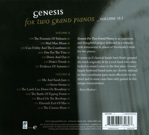 Genesis for Two Grand Pianos, Vols. 1 & 2