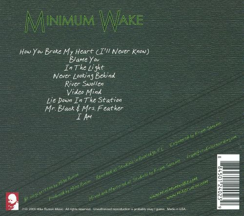 Minimum Wake