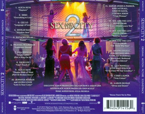 Sex and the city soundtrack album