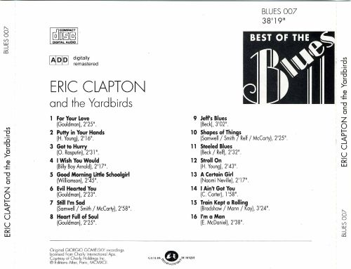 Best of the Blues: Eric Clapton & the Yardbirds