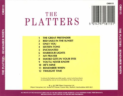 The  Platters [Object Enterprises]
