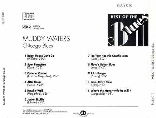 Best of the Blues: Muddy Waters - Chicago Blues