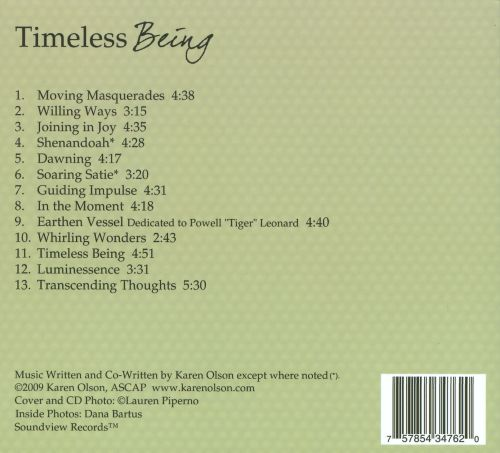 Timeless Being