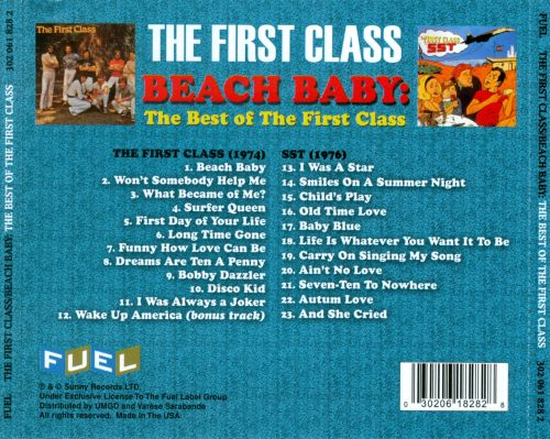 Beach Baby: The Best of the First Class