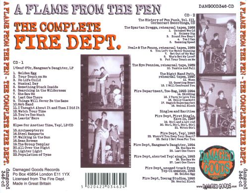 A Flame from the Fen: The Complete Fire Dept.