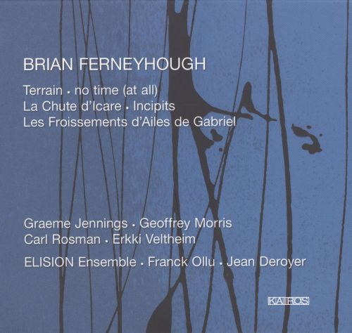 Brian Ferneyhough: Terrain