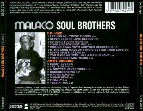 Malaco Soul Brothers, Vol. 2