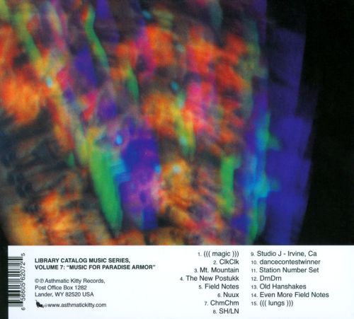 Library Catalog Music Series, Vol. 7: Music for Paradise Armor