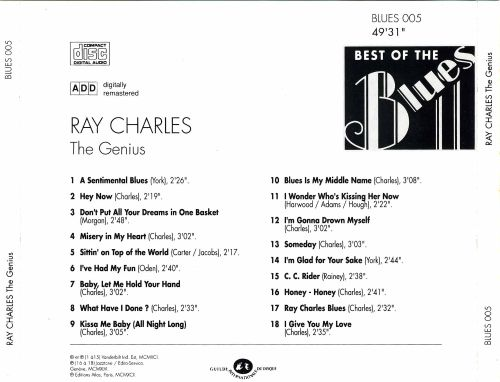 Best of the Blues: Ray Charles - The Genius